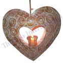 Latest Design Heart Hanging Christmas Ornaments