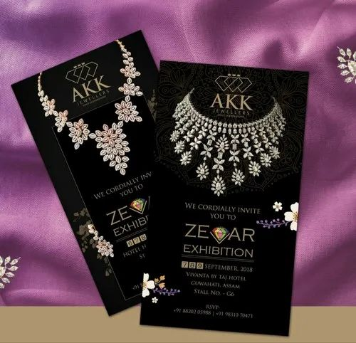 Advertising For Customised Invitation Card Pearl