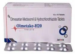 Olmesartan 20 Mg & HCTZ 12.5 Mg Tab