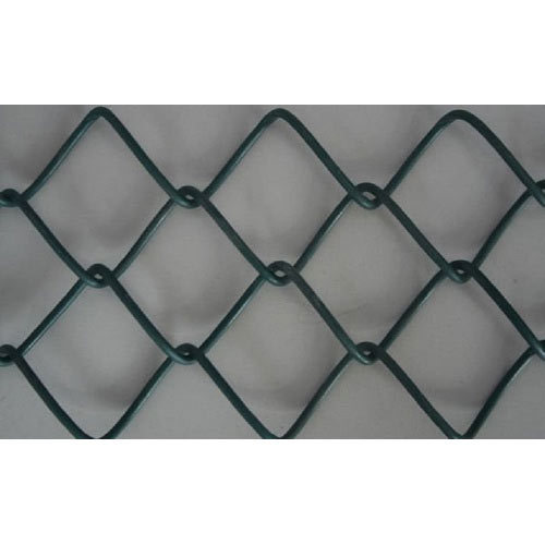 Galvanized Iron (GI) PVC Coated Chain Link Fencing