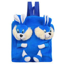 Double Face Blue Rabbit Kids Bag