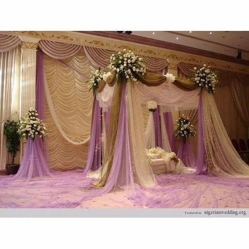 Modern Wedding Decoration Ideas: Modern Wedding Stage At Rs 232000 /unit