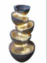 FRP POT TYPE DECORATIVE FOUNTAIN WATERFALL