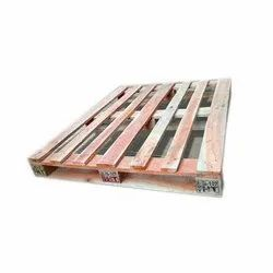 Rectangular Heat Treated Wooden Pallet, For Shipping
