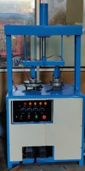 Double Die Hydraulic Dona Machine