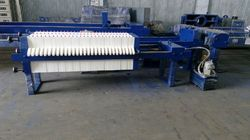 Automatic 500-1000 Litres/hr Chamber Filter Press, Filter Area :<100 And 300-400 Square meter