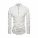 Men's Mandarin Collar Shirt