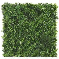 Plastic Artificial Green Wall