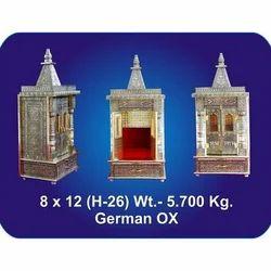 8x12x26 Inch German Oxidized Temple