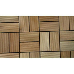 Natural Wooden Decking