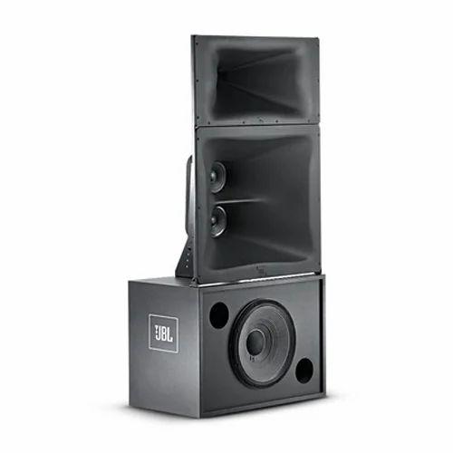 Black JBL 3731 Three Way Cinema Speaker