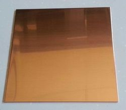 201 Bronze Mirror Designer Stainless Steel Sheet