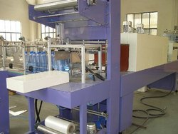 Automatic Shrink Wrapping Machine For Bottles