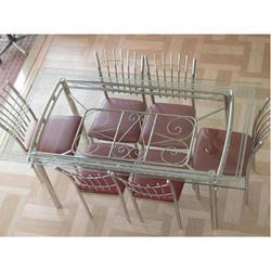 Steel Dining Table Set At Rs 15500 /set | Circular Road | Gonda | ID:  14541820362