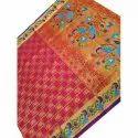 6.20 M Festive Wear Silk Paithani Saree, With Blouse Piece, Machine Made