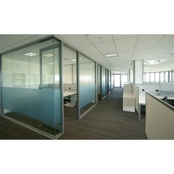 Framed Office Glass Partitions