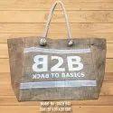 Custom Print Jute Bag