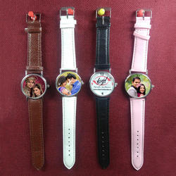 Leather Sublimation Wrist Watch