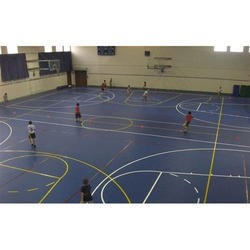 Sports Floor Coating Services, Industrial Use