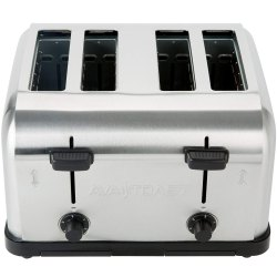 Stainless Steel Slice Pop Up Toaster, for Commercial