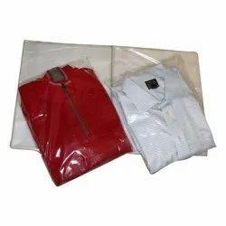 Transparent Plain PVC Garment Packaging Bag, Capacity: 0.5 Kg, Thickness: 50 - 100 Micron