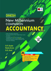 English DINESH New Millennium Companion Accountancy Class 11, 2020-21, O.p. Gupta,Reeta Arora