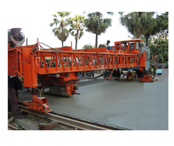 Road Construction Paver Machine