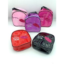Zipper Printed Ladies Make Up Kit