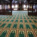 Green Masjid Carpet