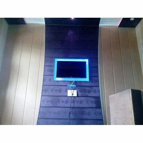 PVC Blue Wall Panel