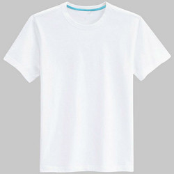 Cotton Plain Round Neck T- Shirt