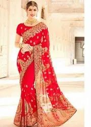 Silk Zari Bridal Saree