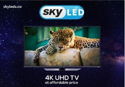 Sky LED 65 Inch Smart Android 4K UHD LED TV, Screen Size: 65 Inch