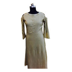 Long Woolen Dress