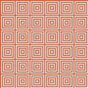 Red Design Glass Mosaics