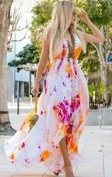 As Shown In Images viscose digital dress
