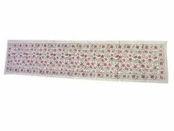 Hand Block Printed Cotton Table Runner