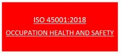 ISO 45001:2018 Certification & Consultancy