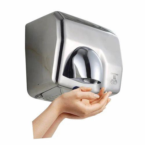 iTradeIMEX SS Automatic Hand Dryer, Dimension/Size: 275X200X230, | ID:  14001888148