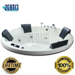 Paula Jacuzzi Acrylic Hydromassage Bathtub