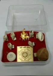 Kesar Zems Shree Sarv Karya Siddhi Box (Multicolour)