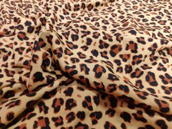 Print Crape Fabric