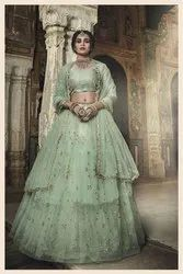 Pr Fashion Launched Beautiful Heavy Designer And Elegant Looking Lehenga Choli