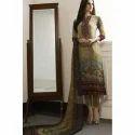 Ladies Georgette Straight Fit Salwar Suit