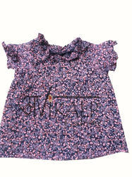 Georgette Avikalp Fashion Printed Top For Kids, Age: 4 Year