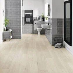 Designers Teak Wood Design Wooden Flooring, Finish Type: Glossy, 5-8mm