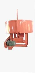 ROLLER CONCRETE PAN MIXER MACHINE