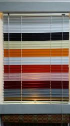 Multicolor Plastic Horizontal Window Blind