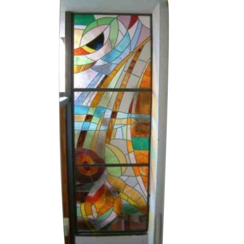 Painted Glass Door At Rs 250 Square Feet Glass Doors Id