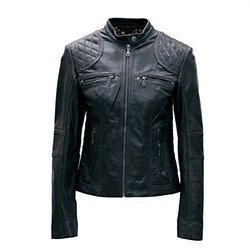 Black Full Sleeve Mens Leather Jacket